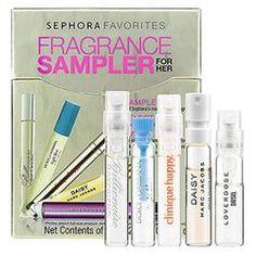 Sephora Favorites Beauty To Go Fragrance Sampler For Her    $18.00  #pintowinGifts  @giftsdotcom