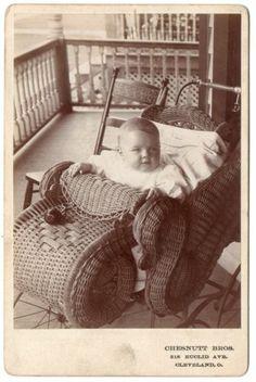 1890's Beautiful Baby Elaborate Wicker Carriage Chesnutt Bros Cleveland Ohio   eBay