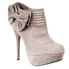 Bow High Heel Boots - Cute High Heel Boots
