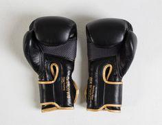 Bia Boxing Glove in Black/Gold.
