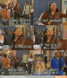 That's so raven!! Hahahahaha i toads remember this show