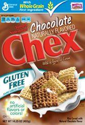 chocolate chex :)