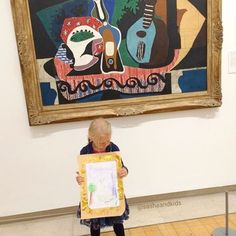 Would you bring your kids to the gallery? My daughter and my husband feel boring after couple of minutes already. I like to feel the connection with the past and history. 🌍 So I'm wondering, how to make My Husband, To My Daughter, My Friend, Friends, Like Me, Illusions, Art For Kids, Connection, Infant