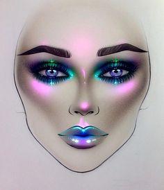 "15.2k Likes, 92 Comments - Sergey X (@milk1422) on Instagram: ""#artist@milk1412  ✨ #mylove #myart #myartistcommunity #myartistcommunityrussia #makeup #makeupart…"""