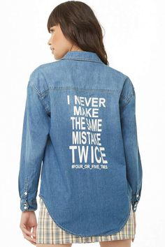 Forever 21 Graphic Denim Shirt#petitewomensclothing#trendypetiteclothing#inexpensivepetiteclothes#designerpetiteclothing#fashionablepetiteclothing#petitedresses#outfitideasforwomen#outfits#trendy#trendyoutfitsforwomen#springoutfits#denim#denimondenim#denimoutfit#denimoutfitideas#denimoutfitideasforwomen#denimfemale#denimshirt#denimshirtdress#denimshirtoutfit#denimshirtoutfitspring#denimshirtoutfitwinter#ad