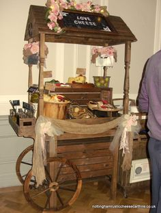 Rustic Cheese Cart Hire from £250