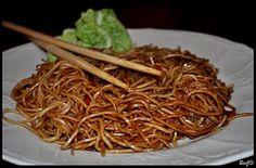 Vegetable noodles wok ...