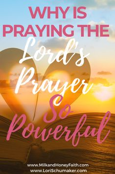 In Matthew 6 Jesus gave an example as well as a guideline for praying.That guideline is what we now call the Lord's Prayer.