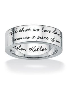 """All that we love deeply becomes a part of us""-Helen Keller"