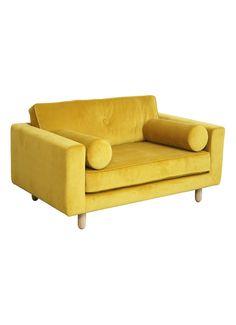 FEST Amsterdam Avenue Love Seat bank Seven 23 geel • de Bijenkorf