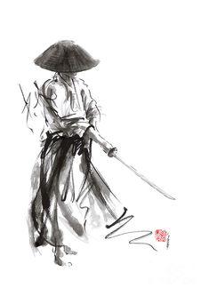 Samurai Warrior Ronon Japanese Katana Bushido Kode by Mariusz Szmerdt ninja samurai viking spartan warrior Samurai Drawing, Warrior Drawing, Samurai Artwork, Samurai Tattoo, Japanese Tattoo Designs, Japanese Tattoos, Japanese Warrior Tattoo, Ps Wallpaper, Wallpaper Quotes