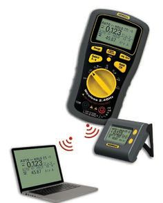 Wireless Data Logging Multimeter With Dot Matrix Lcd Plus Ncv-ncc