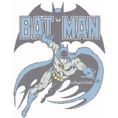 Vintage Batman cross stitch pattern instant от LeRayonDeSoleil