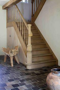 Landelijke trap