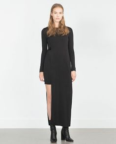 Image 1 of LONG DOUBLE LAYER DRESS from Zara