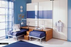 Three creative solutions for furnishing the children and teens' rooms