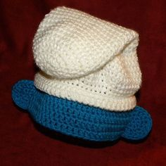 Smurf hat crochet pattern - perfect for costumes!