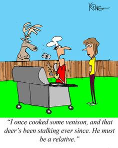 Sunday Morning Grilling Comics April 20, 2014 | http://www.cooking-outdoors.com