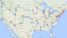 Computing the optimal road trip across the U.S.