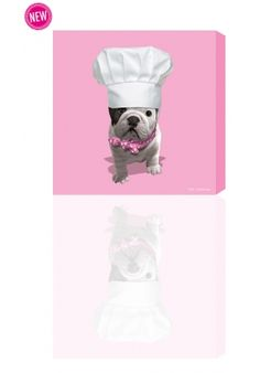 Teo Chef, Teo Jasmin, Tableau, Canvas, Rose Baby, Pink