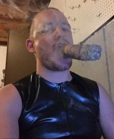 gay cigar smoker