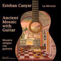Ancient Mosaic with Guitar : La Reverie