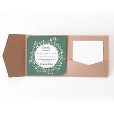 Hochzeitskarten Quadratisch - Diadem