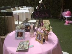 Registry welcome table