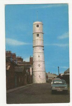The Lighthouse Blyth Northumberland Vintage Postcard Jesmond Dene, Farne Islands, Waterloo Road, Salisbury Cathedral, Northumberland England, Aberystwyth, Picture Postcards, Vintage Pictures, Lighthouses