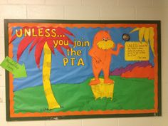 PTA Bulletin Board (we don't have a bulletin board but this might be a cute poster or flyer we can distribute...)