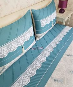 Very Fabulous 20 Lace Pike Models, Prayer Rug, Pink Bedding, Decorative Cushions, Bargello, Embroidery Dress, Bed Covers, Tiffany Blue, Bed Sheets, Models