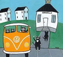 Back to School Cats by Ryan Conners