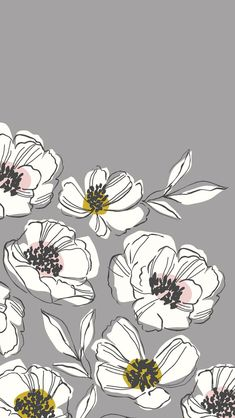Illustrations Wallpaper Drawings - My Dunsire Iphone Background Wallpaper, Aesthetic Iphone Wallpaper, Mobile Wallpaper, Aesthetic Wallpapers, Floral Wallpaper Iphone, Wallpapers For Mobile Phones, Floral Wallpapers, Phone Screen Wallpaper, Iphone Mobile