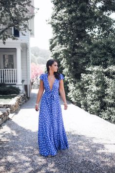 The Sid Wrap Dress from Tularosa Best Maxi Dresses, Casual Dresses, Summer Dresses, Maxi Dress Wedding, Maxi Wrap Dress, Dress Long, High Fashion Outfits, Maxi Outfits, Women's Fashion