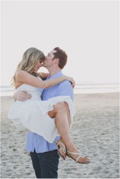 Venice Beach Engagement Session: Christina   Joe