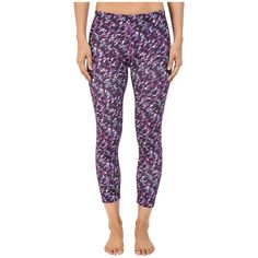 Nike Pronto Essential Cropped Pants (Cosmic Purple) Women's Casual... ($60) ❤ liked on Polyvore featuring activewear, activewear pants, nike, nike activewear, nike sportswear and nike activewear pants