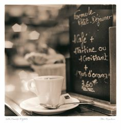 Tangletown Fine Art Cafe Champs-Elysees by Alan Blaustein Gallery Wrap Canvas Art printed on heavy museum grade canvas by As Shown Coffee In Paris, Coffee Cafe, Coffee Shop, Drink Coffee, Coffee Lovers, Stylish Home Decor, Affordable Home Decor, Little Paris, Art Themes