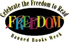 http://www.bannedbooksweek.org/    More ideas and activities for Banned Books Week.