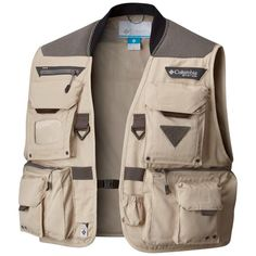 Columbia Men's PFG Henry's Fork V Fishing Vest