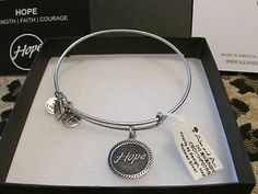 Cleaning Alex and Ani Jewelry | NWT ALEX AND ANI BRACELET ** HOPE ** RUSSIAN SILVER RETIRED HARD TO ...