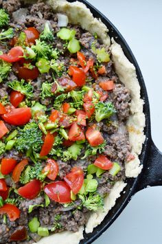 Rustic meat skillet with beef & bison: a story from our lives