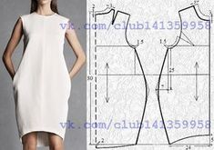 El patrón del vestido con tsel