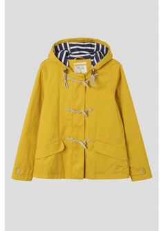 Seafolly Jacket | Weatherproof tin cloth duffle coat
