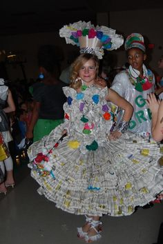 Trashion Show- What a fabulous green event for schools!