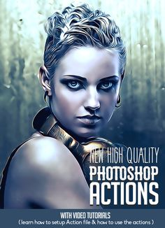 New High Quality Photoshop Actions for Photographers & Designers Photoshop Tutorial, Photoshop Video, Photoshop Effects, Photoshop Plugins, Advanced Photoshop, Photoshop Actions For Photographers, Photoshop Photography, Photography Basics, Photo Manipulation Tutorial