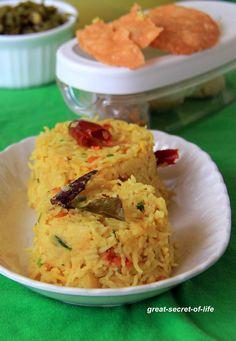 Great-secret-of-life: Arisi Paruppu Rice -Arisi Paruppu Sadham - Rice and thoor dhal rice
