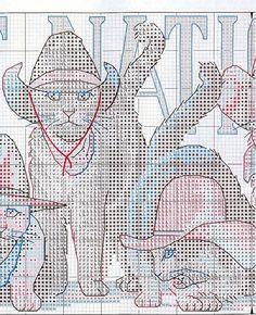 First National Bank - 3/6 Solo Patrones Punto Cruz (pág. 404) | Aprender manualidades es facilisimo.com