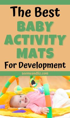 Baby learning activities do not need to be complicated. Check out these must have baby activity mats and find out how a simple toy such as this will benefit your infant's development. It's perfect for developing fine and gross motor skills as well as speech and language development!