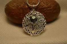 Essential Oil Diffusing Necklace.  Wear your essential oils in this pendant to enjoy them wherever you go!