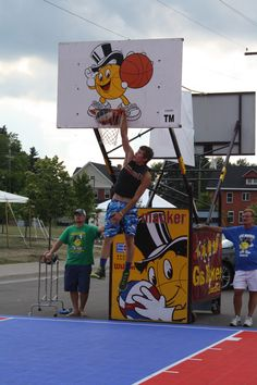 And he makes it! Is basketball your sport? Sault Ste. Marie, MI